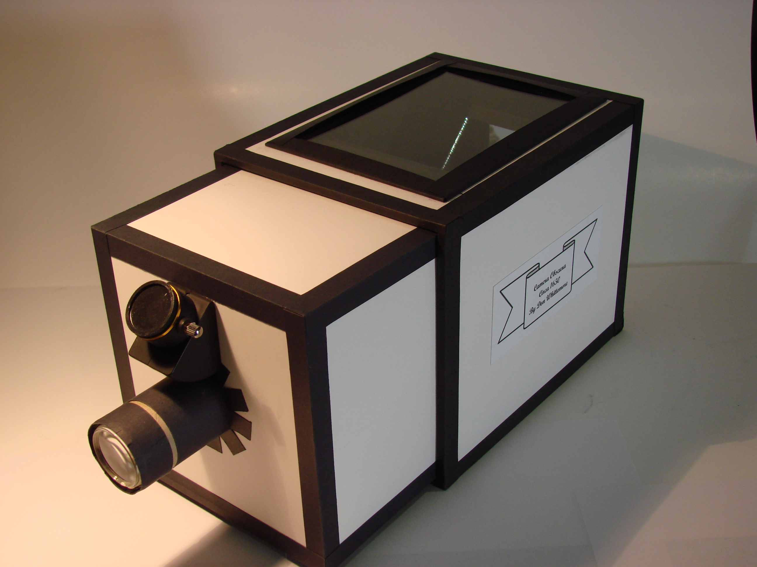 Как сделать камеру обскура